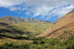 södra africa liggandeberg Fotografering för Bildbyråer