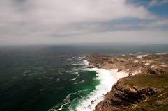 södra africa uddpunkt arkivbilder