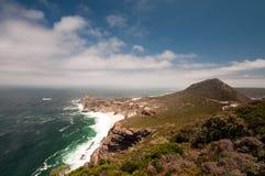 södra africa uddpunkt royaltyfri bild