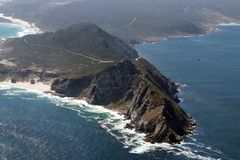södra africa uddpunkt royaltyfri fotografi