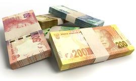 Södra - afrikan Rand Notes Bundles Stack