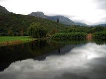 Södra - afrikan Winelands Arkivbilder