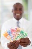 Södra - afrikansk affärsman royaltyfria foton