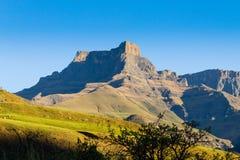 Södra - afrikansk gränsmärke, amfiteater från kungliga Natal National P Fotografering för Bildbyråer