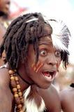 Södra - afrikansk krigare Arkivbilder