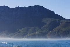 södra afrikansk kust Arkivfoto
