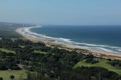 Södra - afrikansk kust Arkivfoton