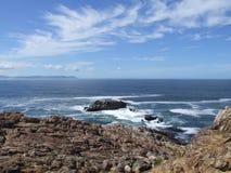 södra afrikansk kustlinje Arkivfoton
