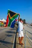 södra afrikansk ventilator Royaltyfria Foton