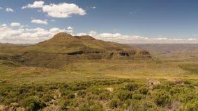 Södra - afrikanskt berg Arkivbilder