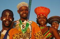 Södra - afrikanskt traditionellt folk Royaltyfri Foto