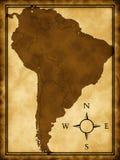 södra Amerika översikt stock illustrationer