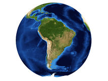södra Amerika översikt vektor illustrationer