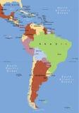 södra Amerika royaltyfri illustrationer