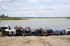 södra Amerika iquitosperu port Royaltyfria Bilder