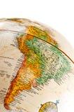 södra Amerika jordklot Arkivbild