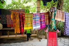 södra amerikanska färgrika filtar Arkivbild