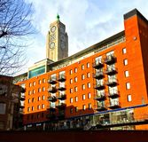 Södra bank för Oxo torn, London Royaltyfri Foto