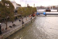 Södra bank, London, UK Royaltyfri Foto