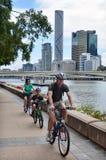 Södra bankParklands - Brisbane Australien Royaltyfria Bilder