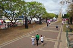 Södra bankParklands - Brisbane Australien Royaltyfri Fotografi