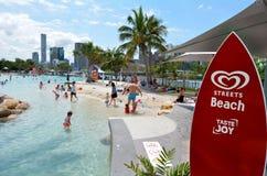 Södra bankParklands - Brisbane Australien Arkivfoton
