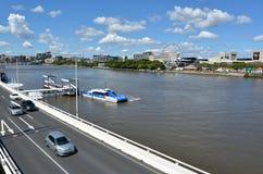 Södra bankParklands - Queensland Australien Royaltyfri Fotografi