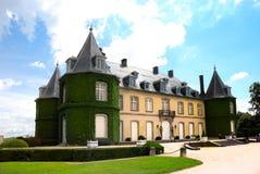 södra Belgien bruxelles chateau de hulpe la fotografering för bildbyråer