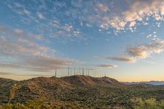 Södra bergTV- och radiotorn Arkivfoto