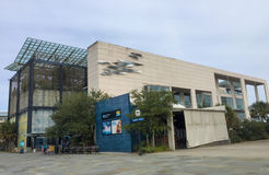 Södra Carolina Aquarium, charleston, SC Arkivbild