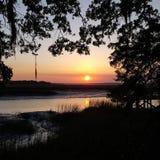 Södra Carolina Sunset Arkivfoton