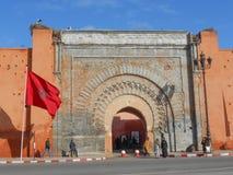 Södra dörr, Marrakech Arkivfoton