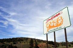 södra dakota att välkomna fotografering för bildbyråer