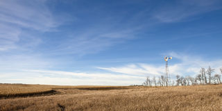 södra dakota lantgård arkivfoto