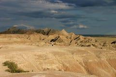 södra dakota moonscape Arkivbild