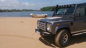 Södra del för Sri Lanka ferie Arkivfoton
