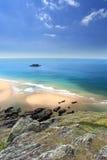 Södra Devon Coastline England royaltyfri bild