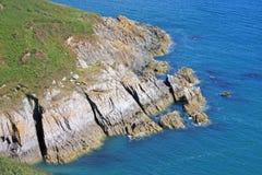 Södra Devon kust Arkivbilder
