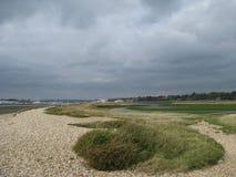 Södra England kust Arkivbild