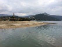 Södra Evia, ö Grekland royaltyfri bild