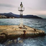 Södra Evia, ö Grekland Royaltyfri Fotografi
