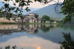 södra by för forntida hongcun för porslin kinesisk arkivfoton