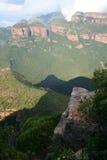 södra flod för africa blydekanjon Royaltyfri Fotografi
