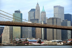 Södra gatahamnstad i Manhattan New York Royaltyfri Foto