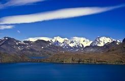 södra georgia berg Arkivfoto