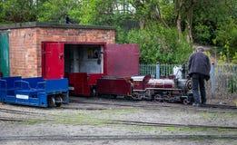 Södra järnväg för sköldMarine Park miniatyr Arkivfoton
