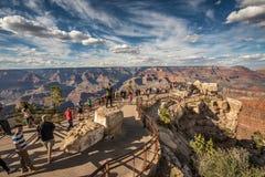 Södra kant av Grand Canyon från Fotografering för Bildbyråer