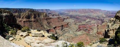 Södra kant av Grandet Canyon i Arizona arkivfoton