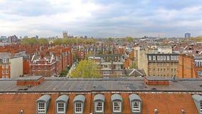 Södra Kensington tak Arkivbild