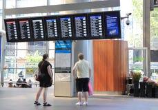 Södra korsetstation Melbourne Royaltyfri Fotografi